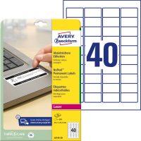 Avery Zweckform L6145-20 öntapadó etikett címke