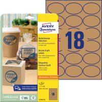 Avery Zweckform L7103-25 öntapadó etikett címke