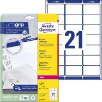 Avery Zweckform L7160-40 öntapadó etikett címke