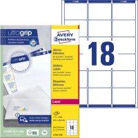 Avery Zweckform L7161-100 öntapadó etikett címke