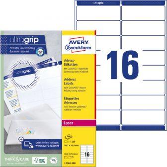 Avery Zweckform L7162-100 öntapadó etikett címke