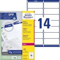 Avery Zweckform L7163-100 öntapadó etikett címke
