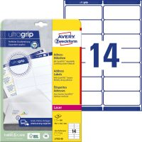 Avery Zweckform L7163-40 öntapadó etikett címke