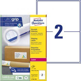 Avery Zweckform L7168-100 öntapadó etikett címke