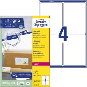 Avery Zweckform L7169-100 öntapadó etikett címke