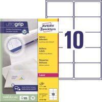Avery Zweckform L7173-100 öntapadó etikett címke