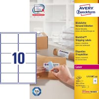 Avery Zweckform L7173B-100 öntapadó etikett címke