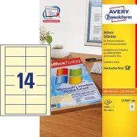 Avery Zweckform L7250-300 öntapadó etikett címke