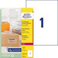 Avery Zweckform L7567-25 öntapadó etikett címke