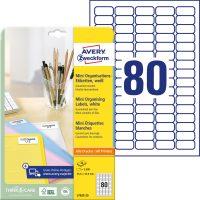 Avery Zweckform L7632-25 öntapadó etikett címke