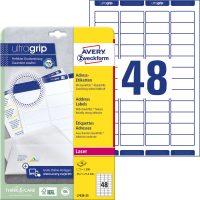 Avery Zweckform L7636-25 öntapadó etikett címke