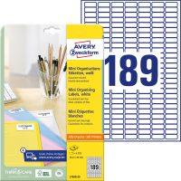 Avery Zweckform L7658-25 öntapadó etikett címke