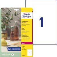 Avery Zweckform L7784-25 öntapadó etikett címke