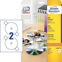 Avery Zweckform L7860-20 öntapadó DVD címke