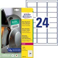 Avery Zweckform L7912-10 öntapadós etikett címke
