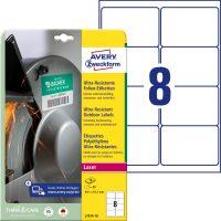 Avery Zweckform L7914-10 öntapadós etikett címke