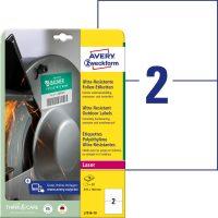 Avery Zweckform L7916-10 öntapadós etikett címke