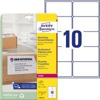 Avery Zweckform L7992-25 öntapadó etikett címke