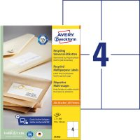 Avery Zweckform LR3483 öntapadós etikett címke