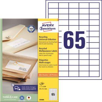 Avery Zweckform LR3666 öntapadós etikett címke