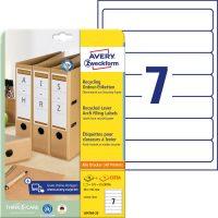 Avery Zweckform LR4760-25 iratrendező címke