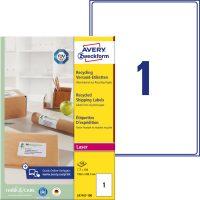 Avery Zweckform LR7167-100 öntapadó etikett címke
