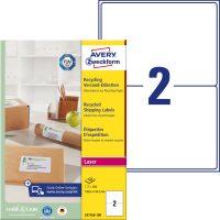 Avery Zweckform LR7168-100 öntapadó etikett címke