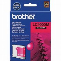 Brother LC1000M tintapatron - bíbor (Brother LC1000M)