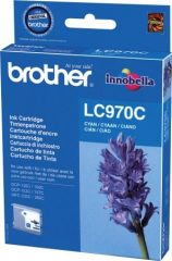 Brother LC970C tintapatron - cián (Brother LC970C)