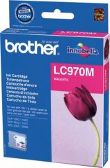 Brother LC970M tintapatron - bíbor (Brother LC970M)
