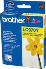 Brother LC970Y tintapatron - sárga (Brother LC970Y)