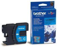 Brother LC980C tintapatron - cián (Brother LC980C)