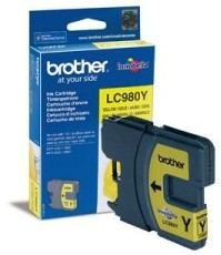 Brother LC980Y tintapatron - sárga (Brother LC980Y)
