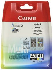 Canon PG-40/CL-41 Multipack - 1 darab Canon PG-40, 1 darab Canon CL-41 tintapatron egy csomagban (Canon PG-40/CL-41 Multipack)