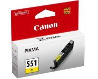Canon CLI-551Y tintapatron - sárga (Canon CLI-551Y)