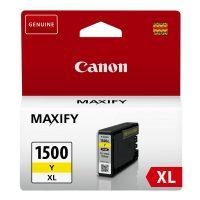Canon PGI-1500XL yellow tintapatron - sárga (Canon PGI-1500XL Y)