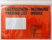 Dokufix tasak (C5) 225 x 165 mm (piros) - 1000 darab / doboz (Okmánykísérő tasak C5, piros)