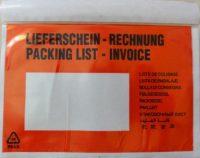 Dokufix tasak (C6) 165 x 125 mm (piros) - 1000 darab / doboz (Okmánykísérő tasak C6, piros)
