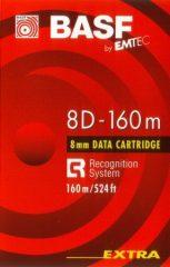 BASF DAT 8D-160 m adatkazetta (D8-160) - 7 / 14 GB (QG160)
