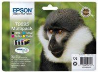 Epson T08954010 Multipack - 1 fekete + 3 szín - 4 patron / csomag (Epson C13T08954010)