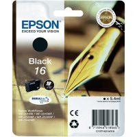 Epson T162110 black ink cartridge (Epson 16) - fekete tintapatron (Epson C13T16214010)