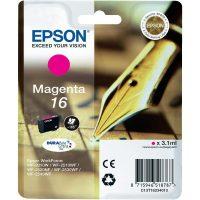 Epson T162310 magenta ink cartridge (Epson 16) - bíbor tintapatron (Epson C13T16234010)