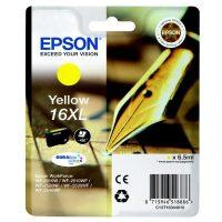 Epson T163410 yellow ink cartridge (Epson 16XL) - sárga tintapatron (Epson C13T16344010)
