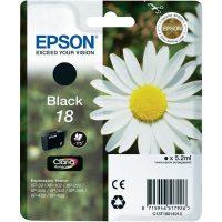 Epson T180110 black ink cartridge (Epson 18) - fekete tintapatron (Epson C13T18014010)