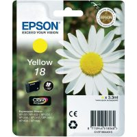 Epson T180410 yellow ink cartridge (Epson 18) - sárga tintapatron (Epson C13T18044010)