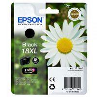 Epson T181110 black ink cartridge (Epson 18XL) - fekete tintapatron (Epson C13T18114010)