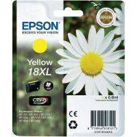 Epson T181410 yellow ink cartridge (Epson 18XL) - sárga tintapatron (Epson C13T18144010)
