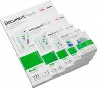 GBC HeatSeal fényes lamináló fólia - 303 x 426 mm méretű (A/3) - 2 x 100 mikron vastagságú, 100 ív / csomag (GBC 3740307)