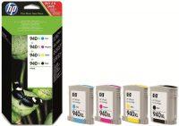 HP C2N93AE No. 940XL combo pack (fekete + 3 szín) - black, cyan, magenta, yellow (Hewlett-Packard C2N93AE)