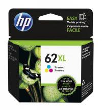 HP C2P07A No. 62XL tintapatron - színes (Hewlett-Packard C2P07A)